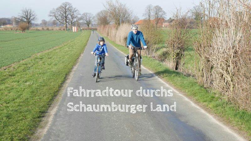 Landtour Bückeburg, Fahrradfahren im Schaumburger Land mit Kindern