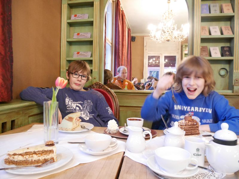 das beste Café in Potsdam mit Kindern: Maison du Chocolat