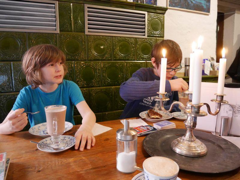Potsdam mit Kindern: Café Matschke