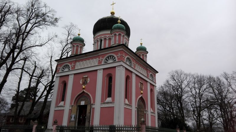 russisch-orthodoxe Alexander-Newski-Kirche, Potsdam