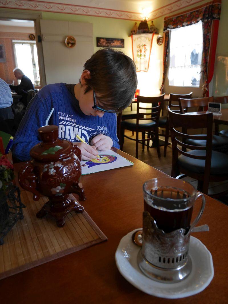 Russische Teestube Alexandrowka, kinderfreundliches Restaurant in Potsdam mit Kindern