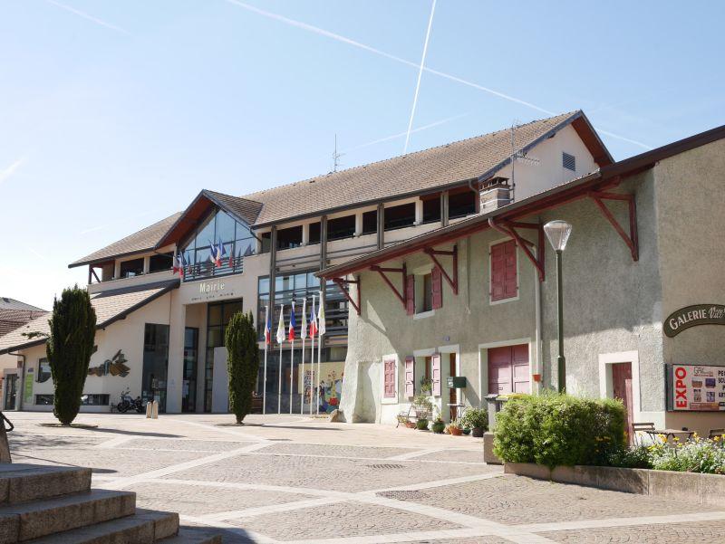 Rathaus Ville-la-Grand, Annemasse, Frankreich