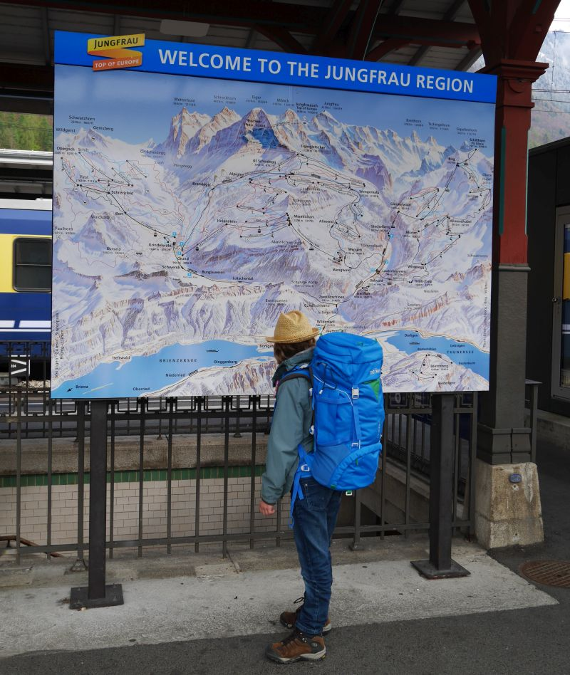 Backpacking mit Kind in der Schweiz