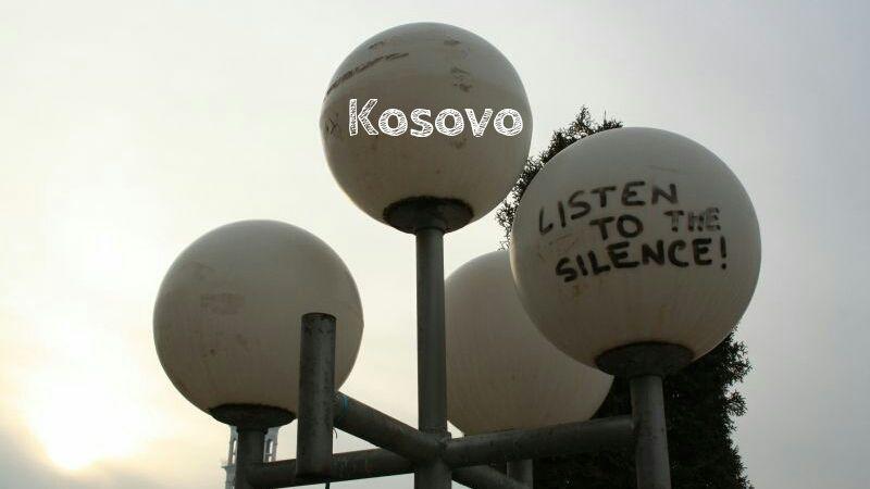 Kosovo als Reiseziel, Pristina. Listen to the silence.