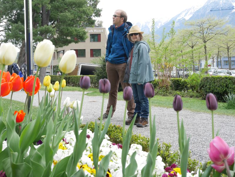Backpacking mit Kind in der Schweiz, Interlaken