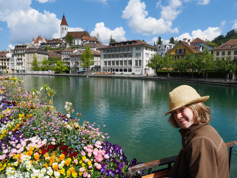 Backpacking mit Kind in der Schweiz, Thun