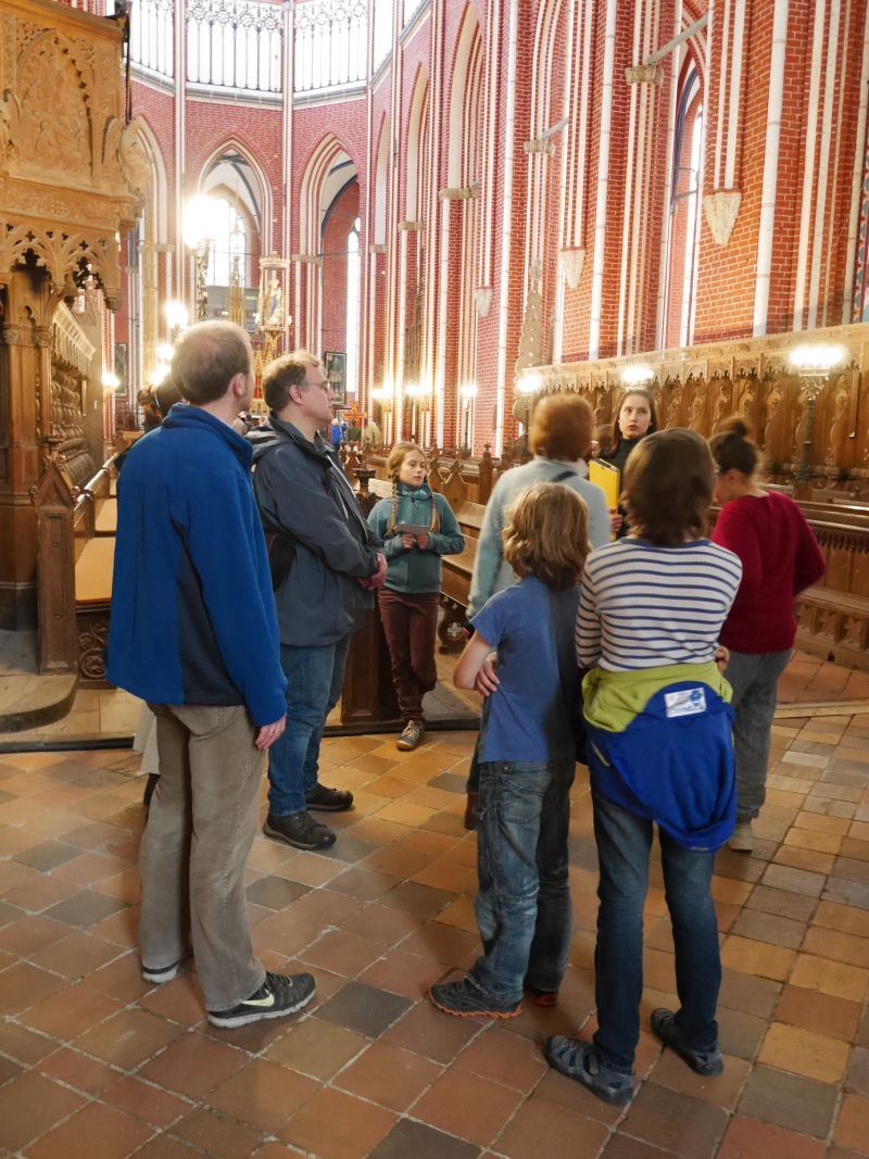 Kinderführung Münster Bad Doberan mit Kindern