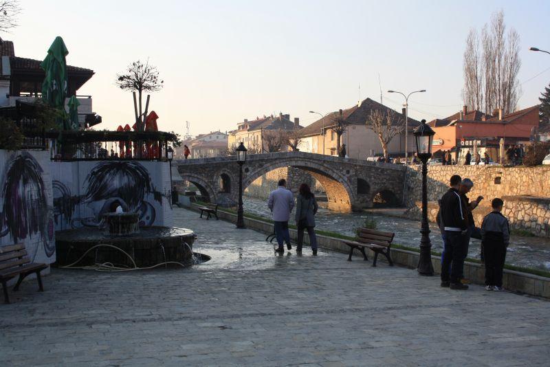 Steinbogenbrücke, Sehenswürdigkeiten von Prizren