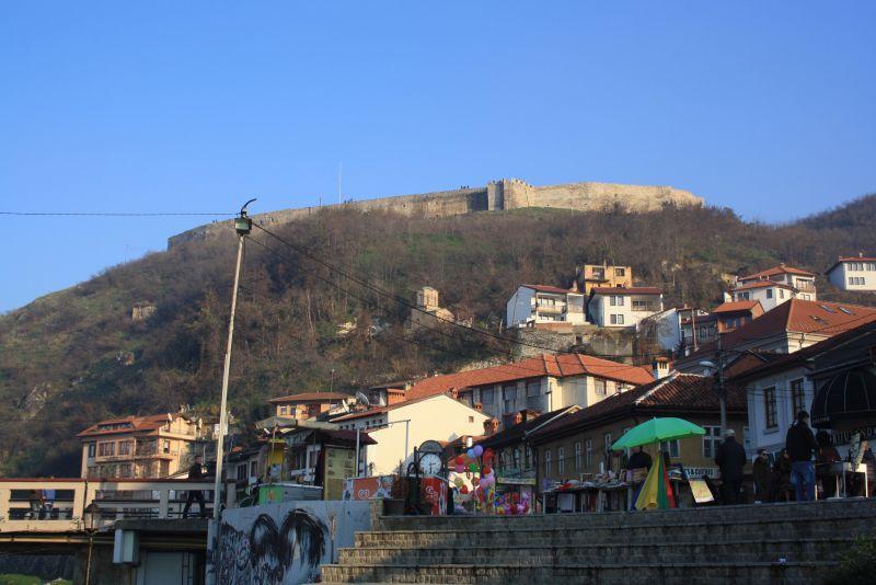 Sehenswürdigkeiten Prizren, Festung Kajala