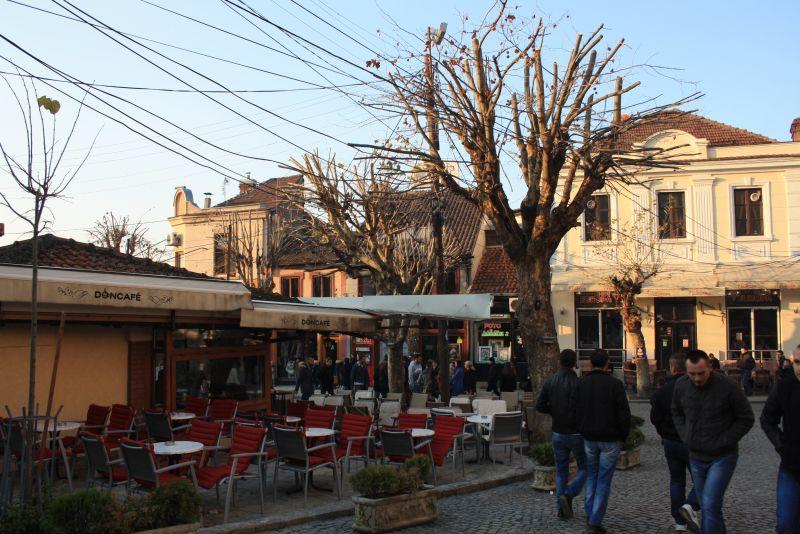 In der Innenstadt von Prizren, Kosovo