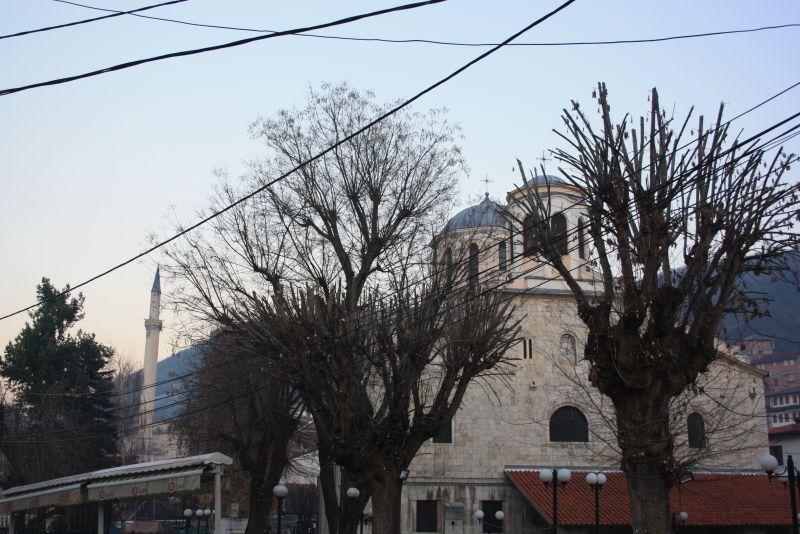 Katholische Kathedrale, Sehenswürdigkeiten in Prizren