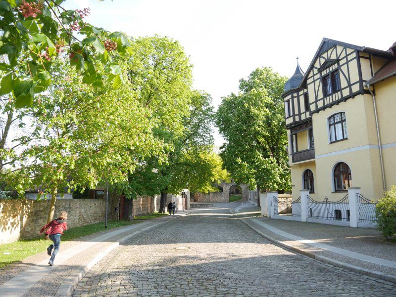 Merseburg mit Kindern, Stadtspaziergang