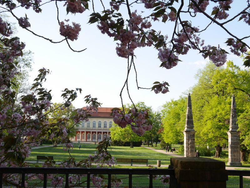Schlosspark Merseburg, Schlossgartensalon
