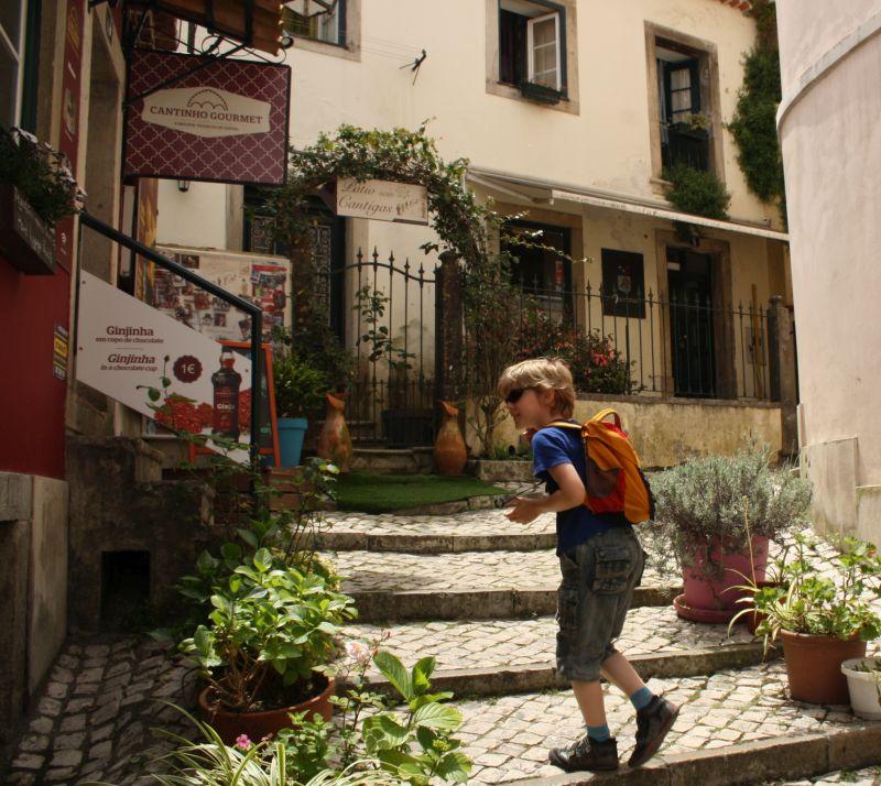 Sintra mit Kindern, Altstadtgassen