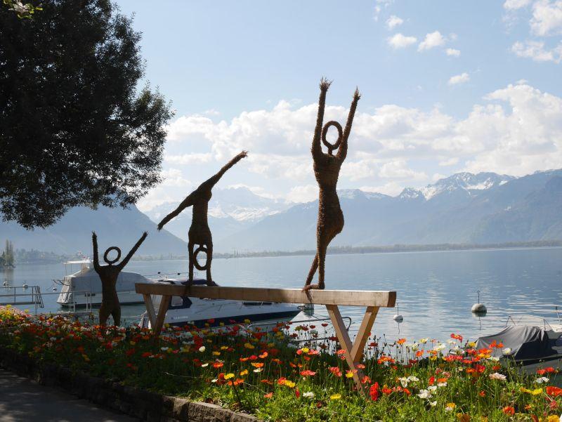 Quai des Fleurs, Montreux, Schweiz