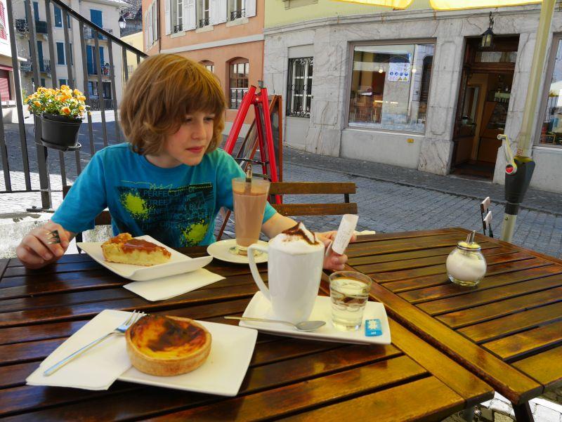 Montreux mit Kind, Tea Rom de la Baye