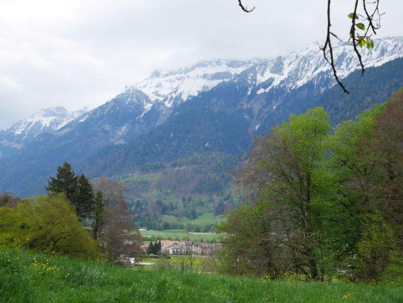 Interlaken Bergpanorama