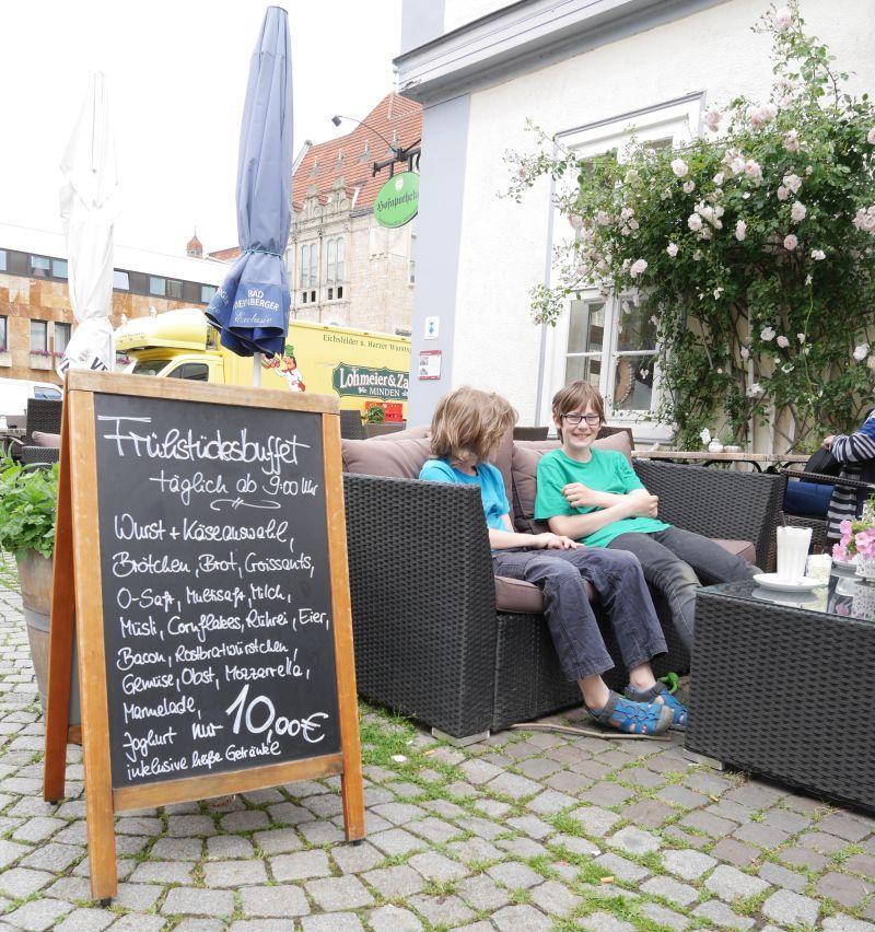 Hofapotheke Bückeburg, kinderfreundliches Café