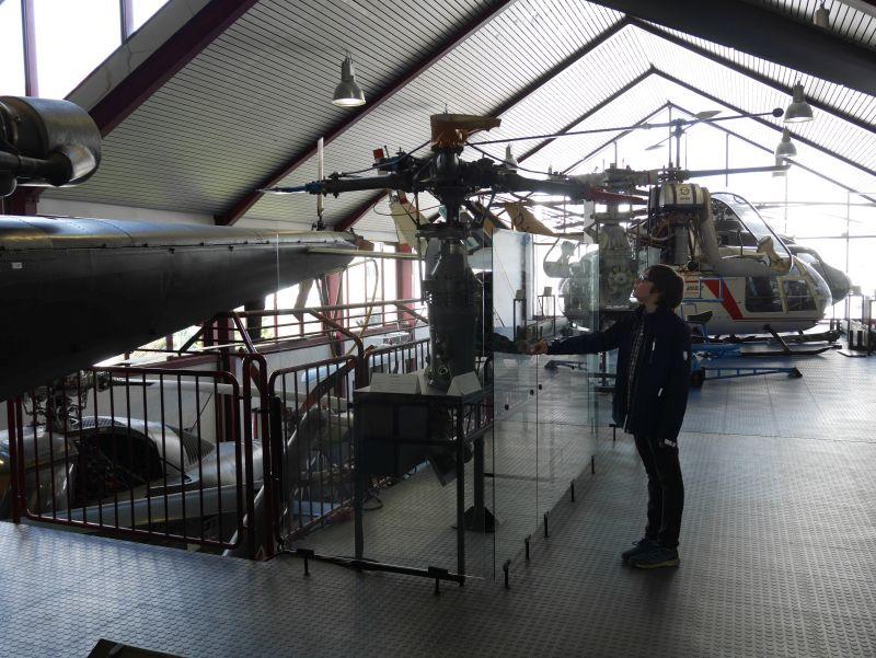 Hubschraubermuseum Bückeburg mit Kindern