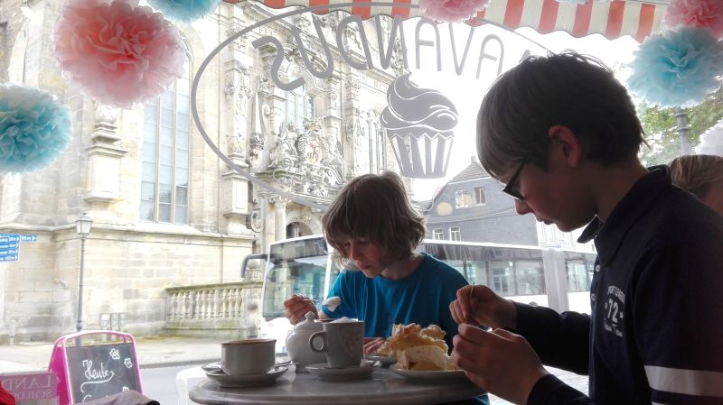 Mavandus Café Bückeburg, kinderfreundliches Café