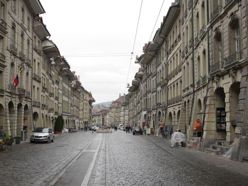 Bern, Marktgasse, Lauben