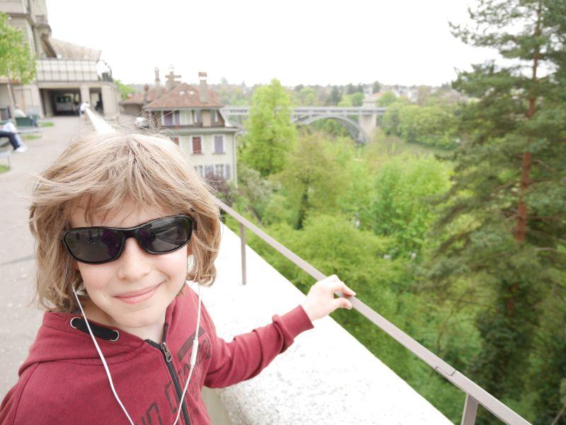Bern mit Kind, Bundesterrassen, Audioguide