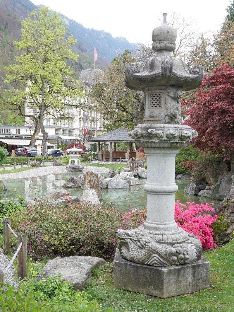 Japanischer Garten, Interlaken, Schweiz