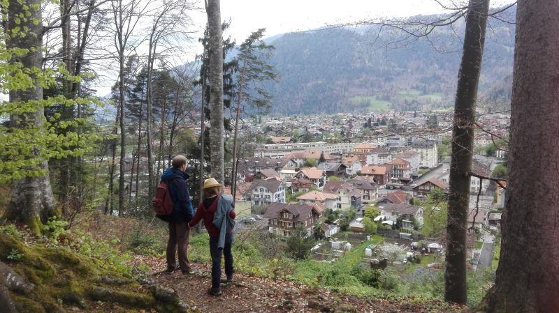 Ausblick auf Interlaken.