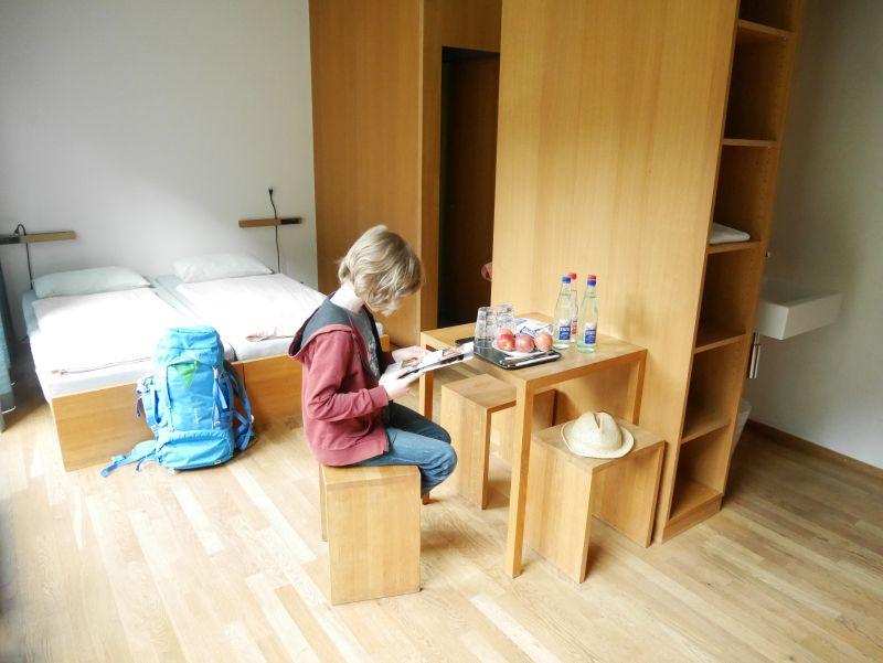 Familienzimmer Jugendherberge Interlaken.