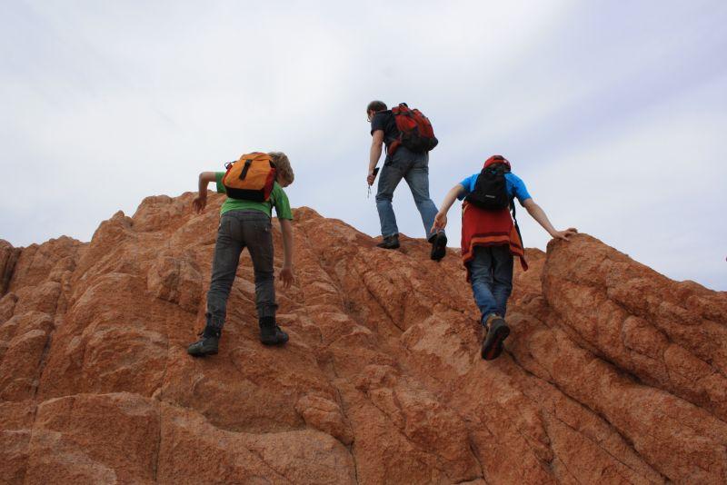 Wandern mit Kindern auf Sardinien, Bergsteigen