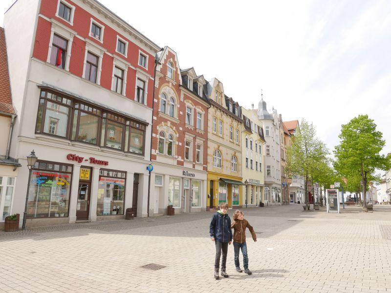 Fußgängerzone Zeitz, Sachsen-Anhalt