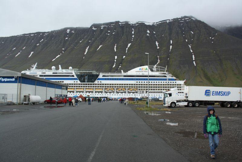 Isafjördur, Island, Kreuzfahrt Hafen