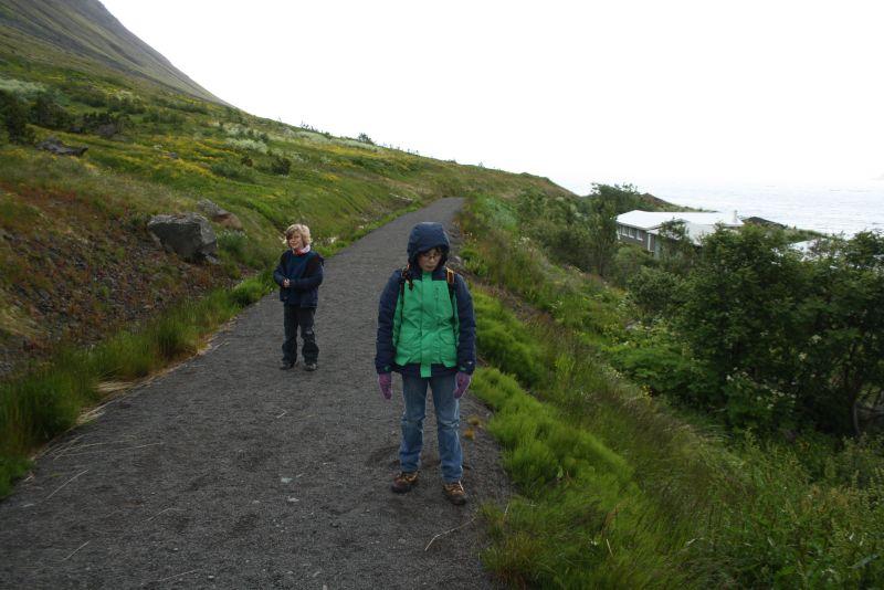 Isafjördur, Island, Wandern mit Kindern