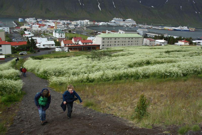 Isafjördur, Island, Wandern