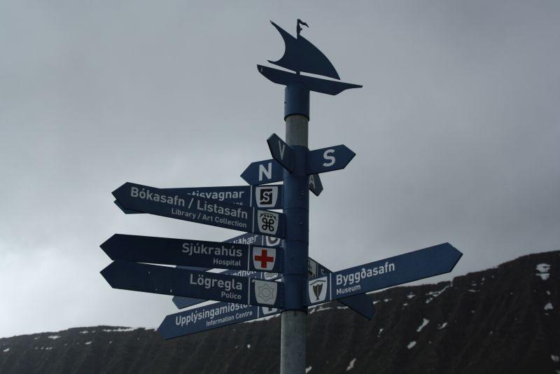Isafjördur, Island, Sehenswürdigkeiten