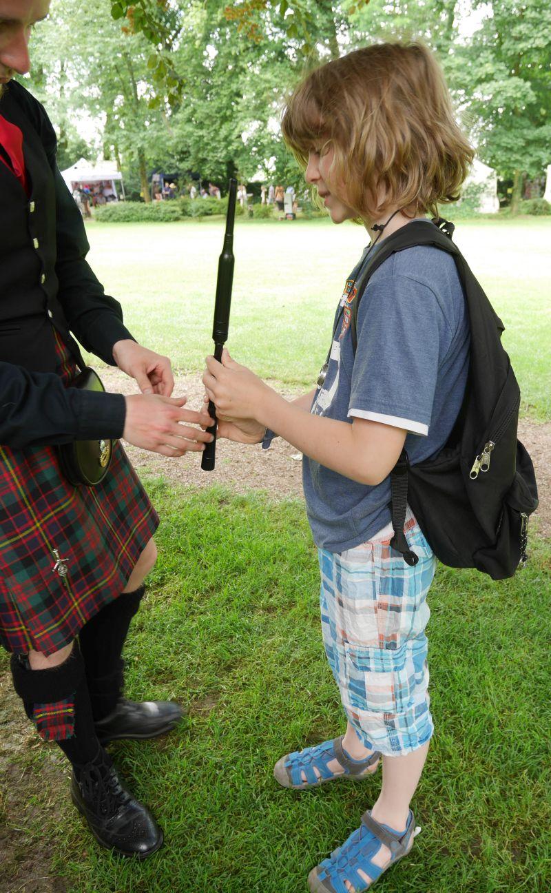 Dudelsack spielen lernen, Essern Highlanders