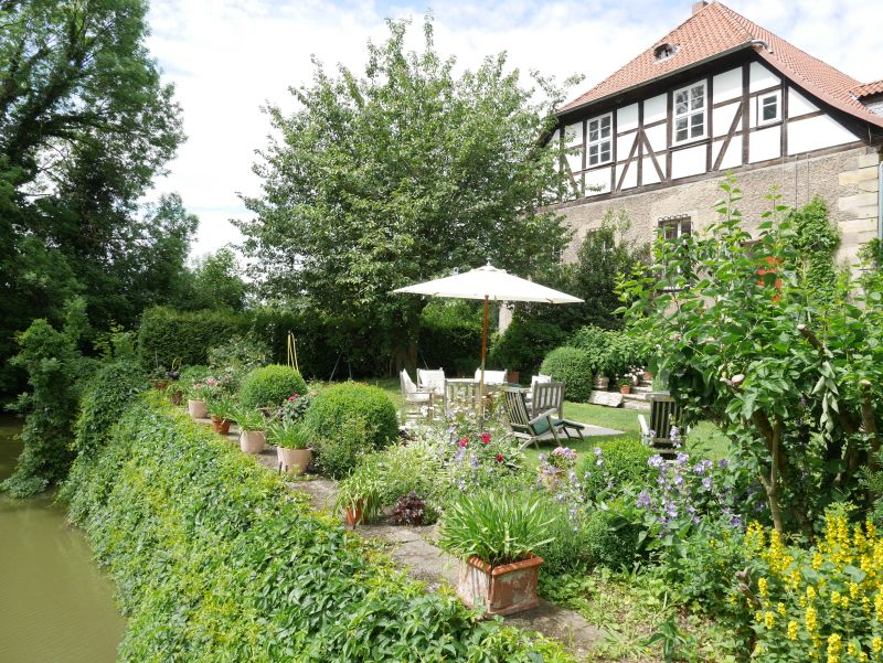 Rittergut Remeringhausen, Garten