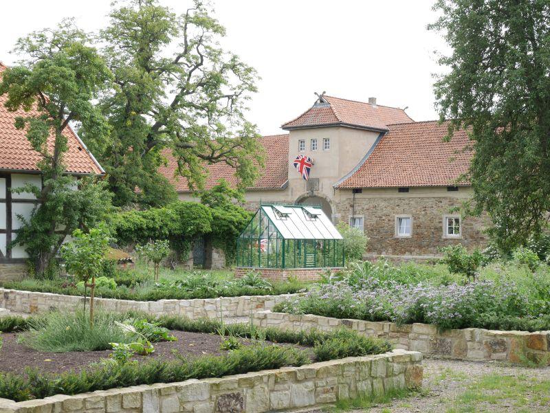 Rittergut Remeringhausen, Garten und Torhaus