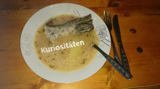 Skurrile Reisegeschichten aus ganz Europa, Fischsuppe im Donaudelta
