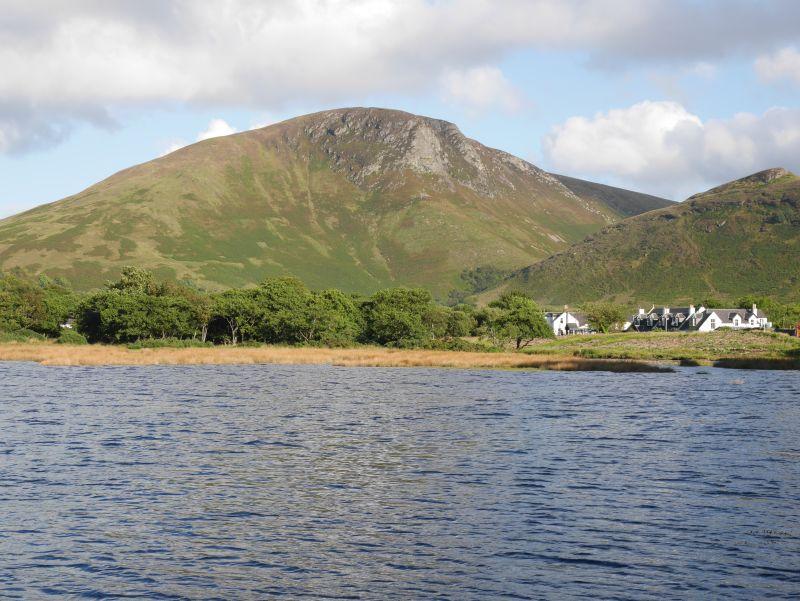 Lochranza, Insel Arran, Schottland-Rundreise mit Kindern