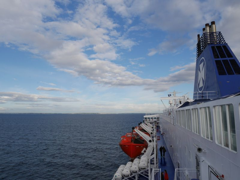 Schottland Fähre DFDS Amsterdam-Newcastle