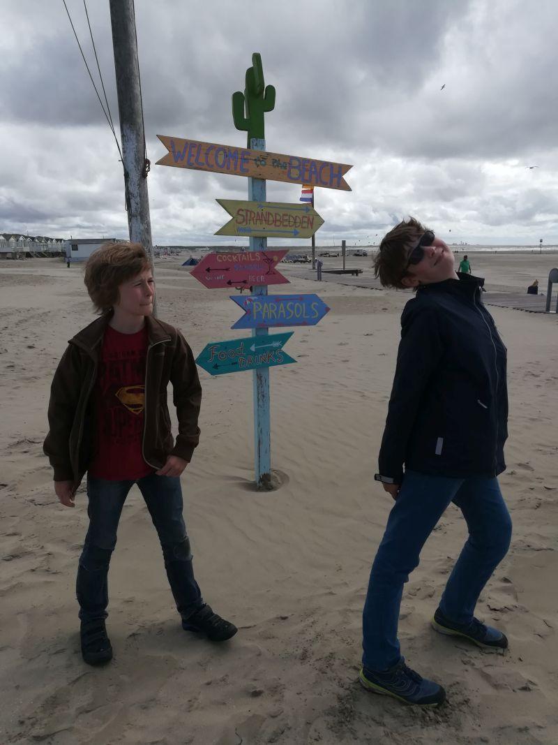 IJmuiden Strand, 10 Minuten Fahrt bis zum DFDS Fährterminal
