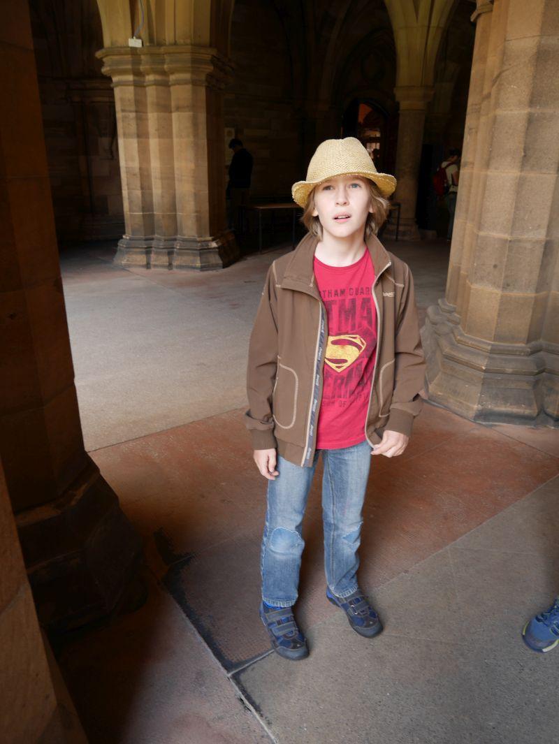 Tagesausflug nach Glasgow mit Kindern, Universität