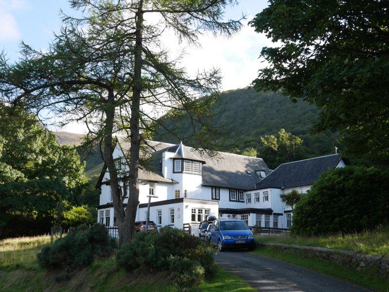 SYHA-Hostel in Lochranza, Arran, Schottland