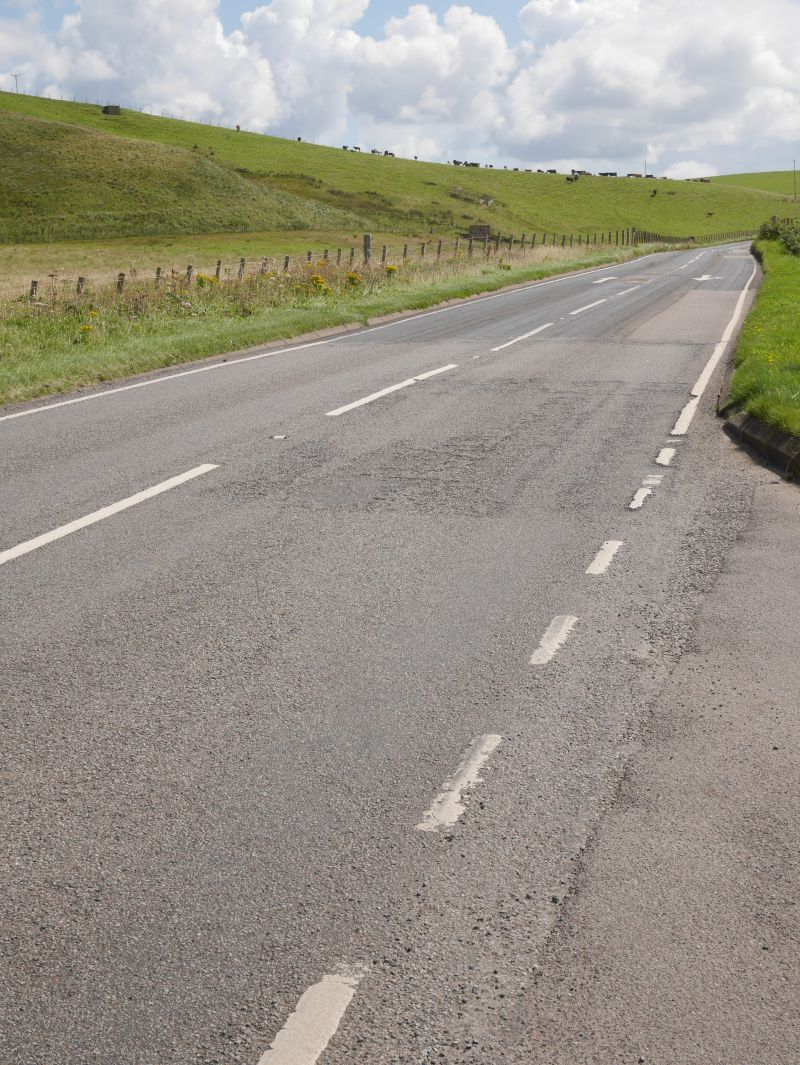 Roadtrip Kintyre Tagesausflug A83 Straßenverhältnisse