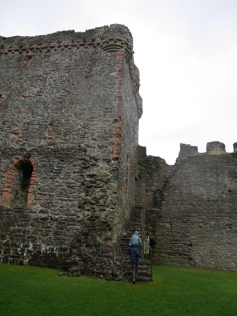 Skipness Castle, Tagesausflug Kintyre, Schottland