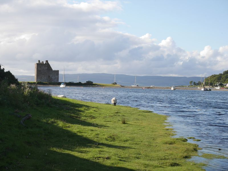 Lochranza Castle, Insel Arran, Schottland