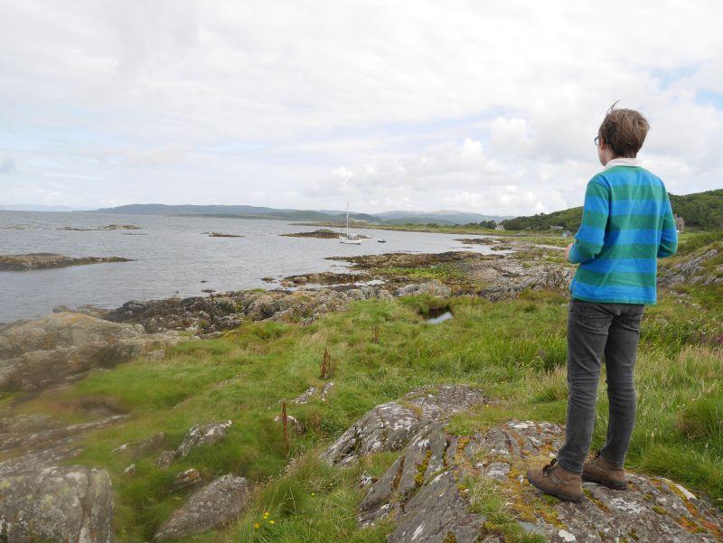Kintyre mit Kindern, Ronachan