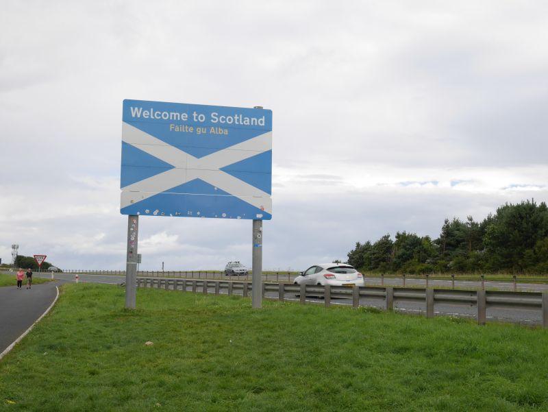 Grenze England Schottland