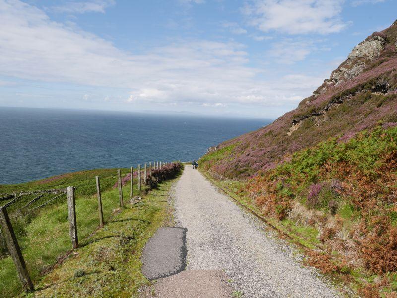 Wanderweg Mull of Kintyre Tagesausflug, Schottland mit Kindern